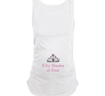 Pink Pregnancy Tank